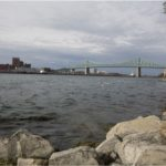 St Lawrence River, Montreal, Quebec, Indigenous Resistance, Amanda Lickers