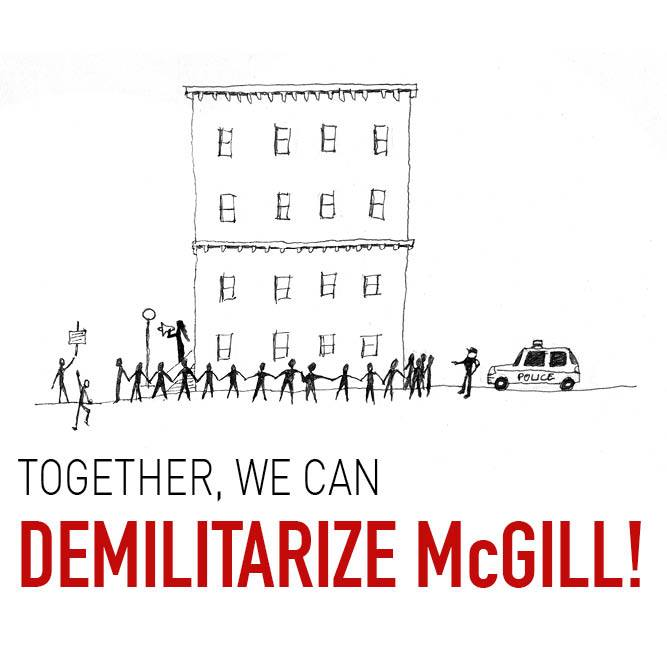 Demilitarize McGill, #RememberThis, Remembrance Day