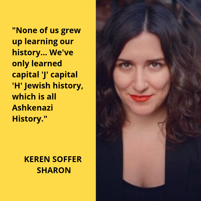 Keren Soffer Sharon, Mizrahi Resistance, Anti-Arab Racism, JFREJ, Jews for Racial and Economic Justice