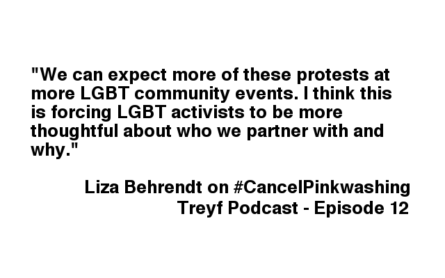 Creating Change, Pinkwashing, Intersectionality, Liza Behrendt, Jewish Voice for Peace, Intersectionality